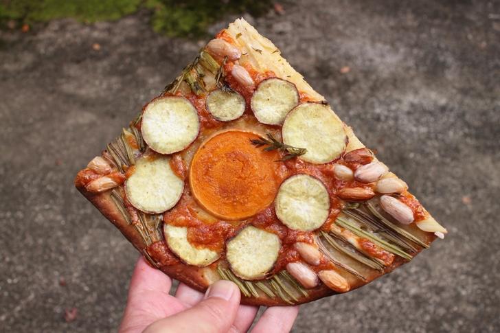 秋野菜のデザインパイはいろいろな秋野菜が楽しめます