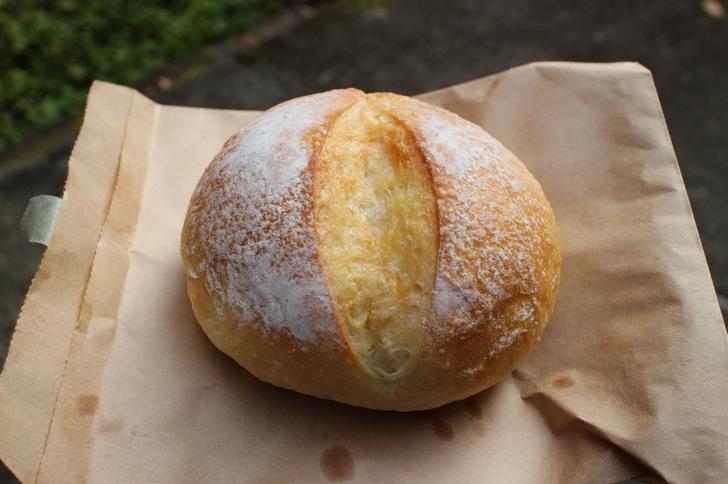 岩塩を使ったもっちりパン