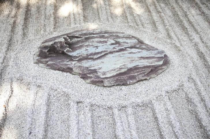 銀閣寺の砂盛り
