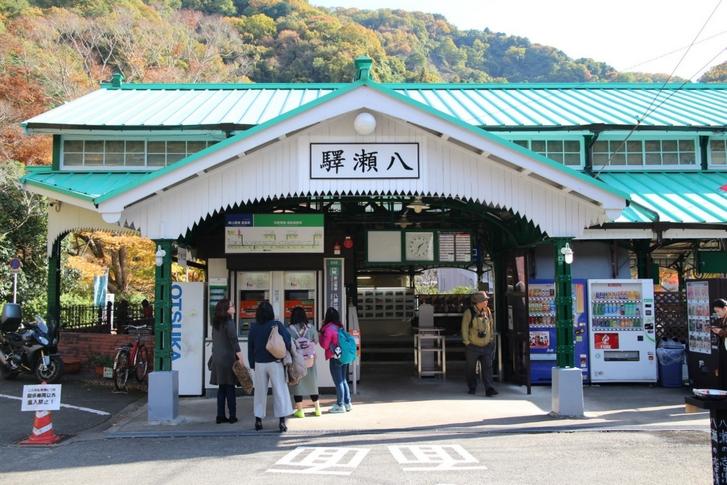 叡山電鉄本線「八瀬比叡山口駅」 鞍馬線ではなく本線で比叡山ケーブルカーのある方