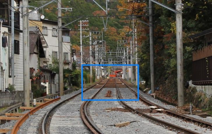 叡山電鉄本線「宝ヶ池駅~三宅八幡駅」の間に確かに何か道がある!