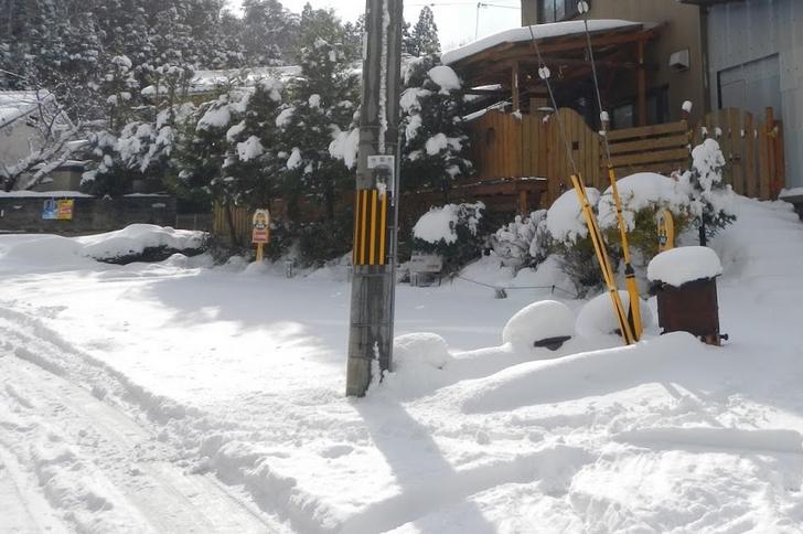 近年では特にすごかった2015年1月の京都での大雪