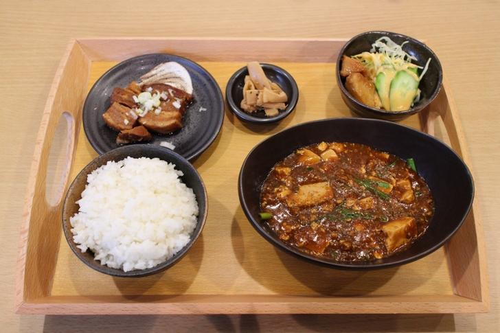 四川旨辛麻婆豆腐セット 900円(50食限定)