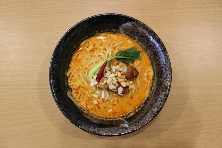 京都・金閣寺の近くにある「特濃旨辛クリーミー担々麺」