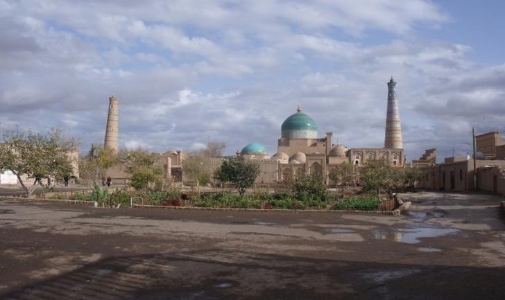 ウズベキスタンの古都 サマルカンド