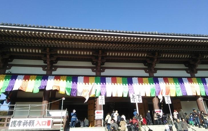 成田山新勝寺で何を撮影したのか?