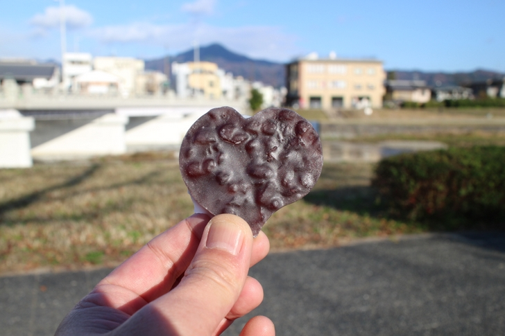 賀茂葵(かもあおい)162円を鴨川で食べてみた