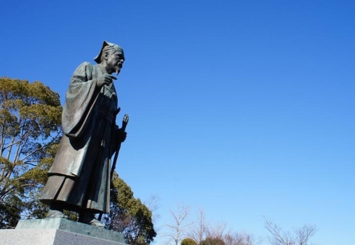 水戸にある徳川光圀(水戸藩第二代藩主)の像
