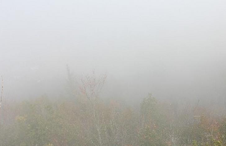 京都・滋賀県で12月21日朝から濃霧が発生