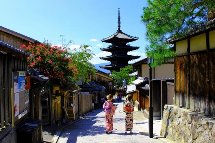冬の京都は寒いので防寒対策を必要です