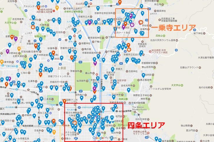 京都を代表するラーメン激戦区