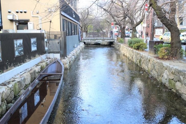 高瀬川(物流用に開削された運河)