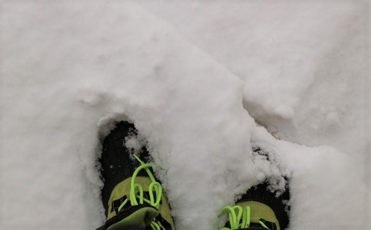 多いところでは積雪30センチはありました