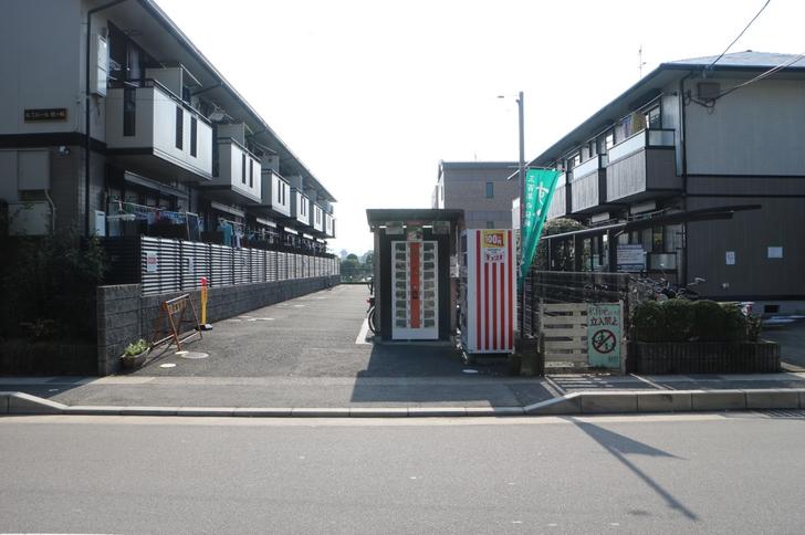 京都繊維大学の南にある「すぐき」の自販機