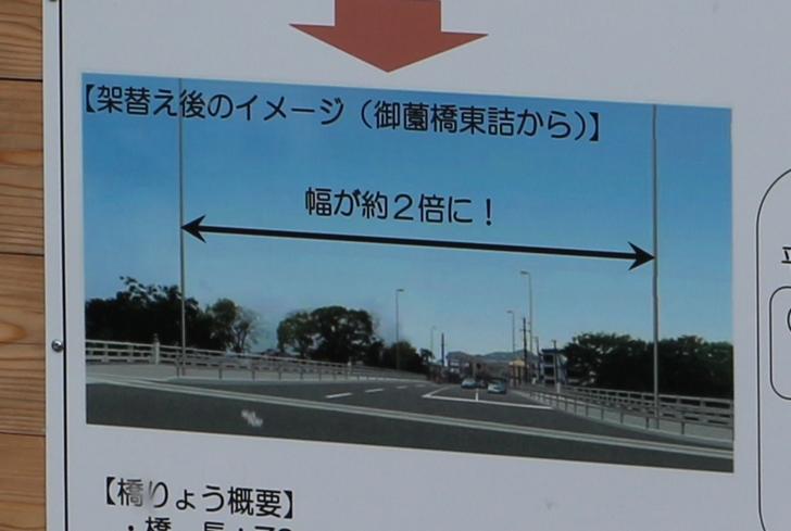 新御園橋のイメージ図