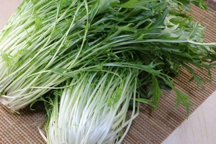 京都産の水菜(京菜・切水菜) 実食レビュー