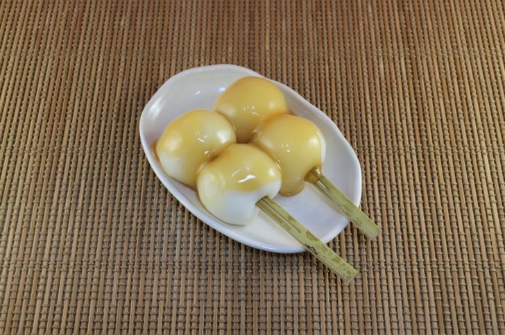 みたらし(団子)はアッサリとした餅の味メインのもの