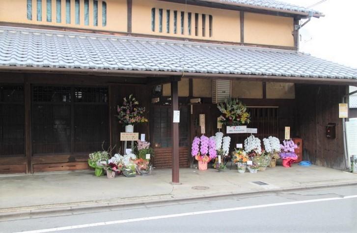 和食むろい 場所は「京都市北区鷹峯」で樋口農園さんの真正面です