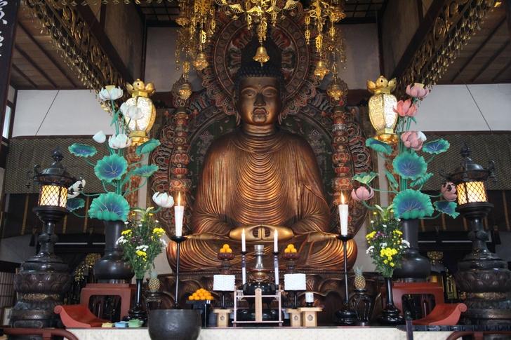京都で一番大きな仏さま