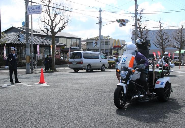 KBS京都の撮影隊