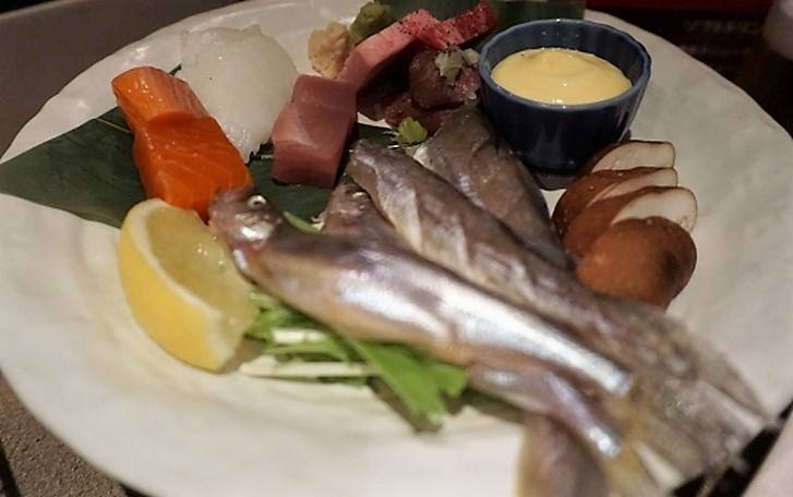 北海道・根室の氷下魚(コマイ)が青空レストランで紹介