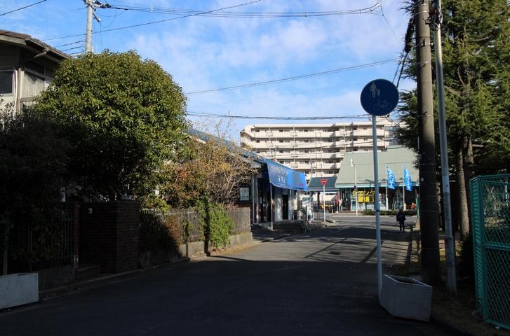 東上島公園の北側にあるコインランドリーマキノ