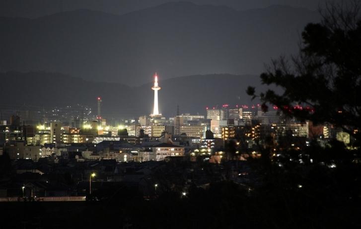 京都の夜景が見られる「法輪寺」がスタート