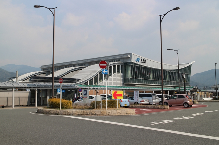 JR亀岡駅、2020年は明智光秀で大ブレイク