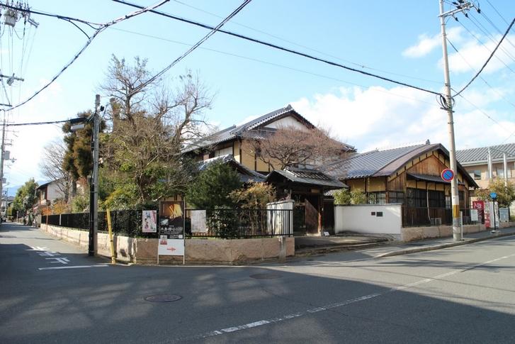 木島櫻谷旧邸 があるのは北野白梅町駅のすぐ近くです