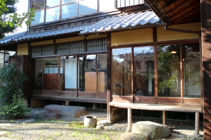 旧木島櫻谷家住宅 立派なお屋敷です