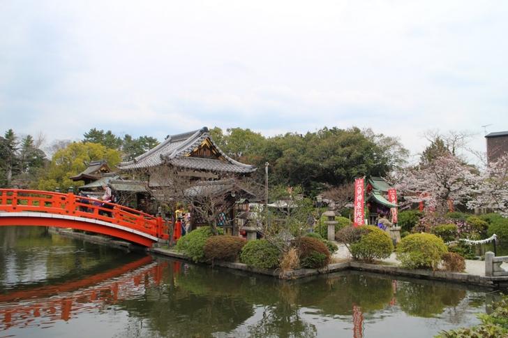 回転する神社がある京都「神泉苑」