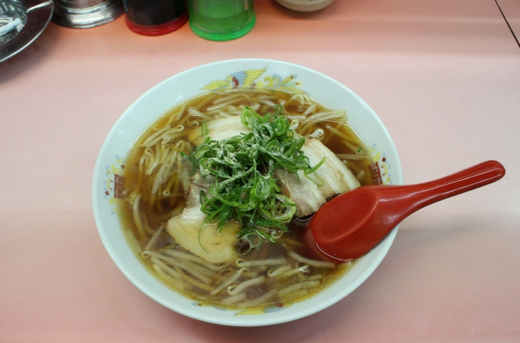 ラーメン 550円