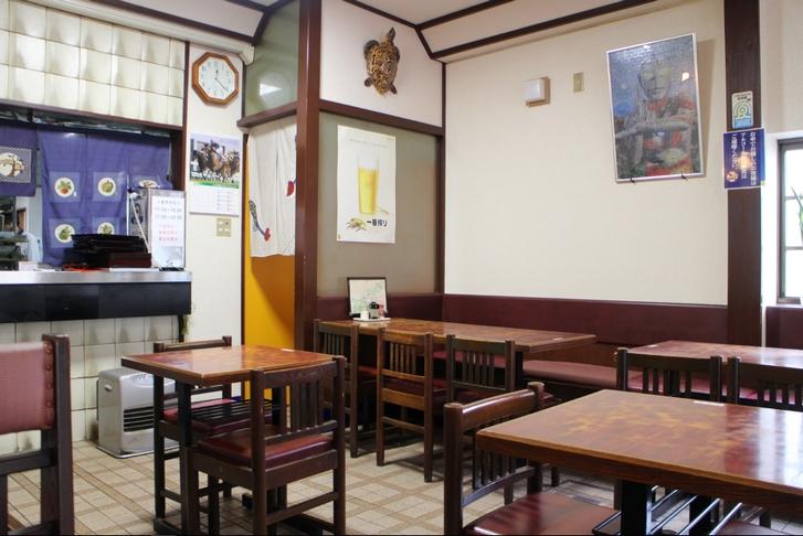 お店は京都によくある大衆食堂