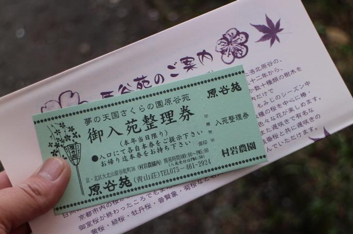 入場料1500円(最高値)の日に入りました