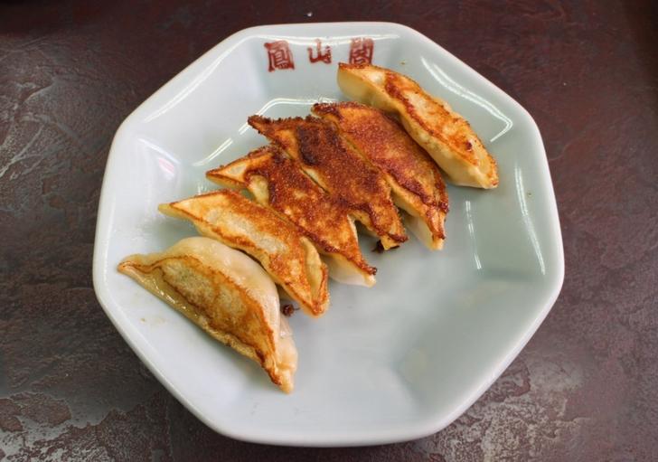 太秦にある餃子が美味しい「鳳山閤」