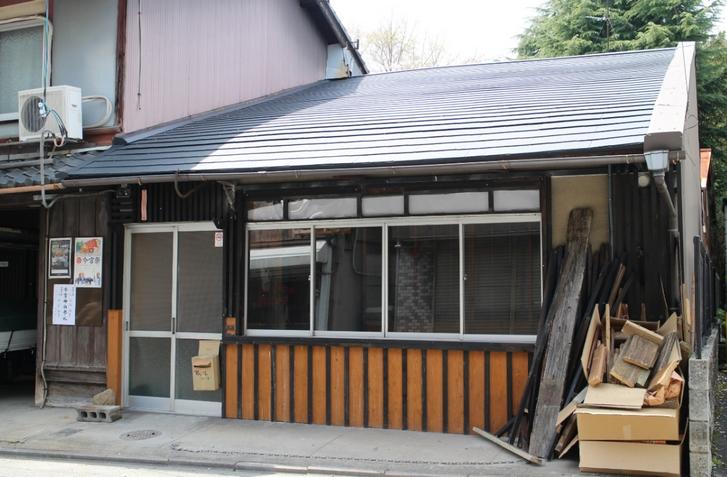 京都・鷹峯の「蕎麦舗 はり江」がなくなってるのん!