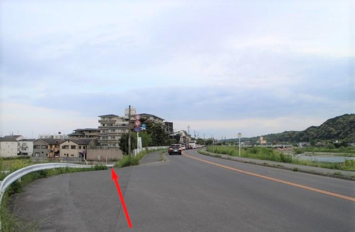 府道29号を嵐山から南下するとある道