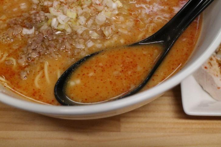 スープは実はかなりシビレル辛さです