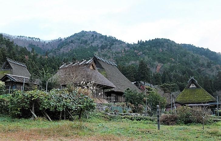 近くには「美山かやぶきの里」という観光地もあります