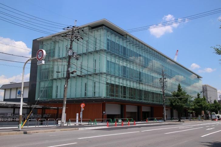 上下水道局太秦庁舎(京都市右京区)