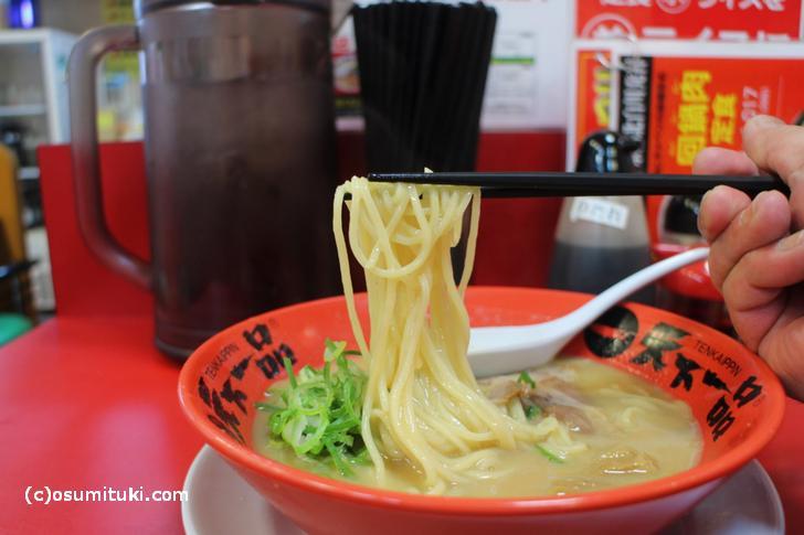 天下一品のラーメン(こってり)は東京でも食べられます