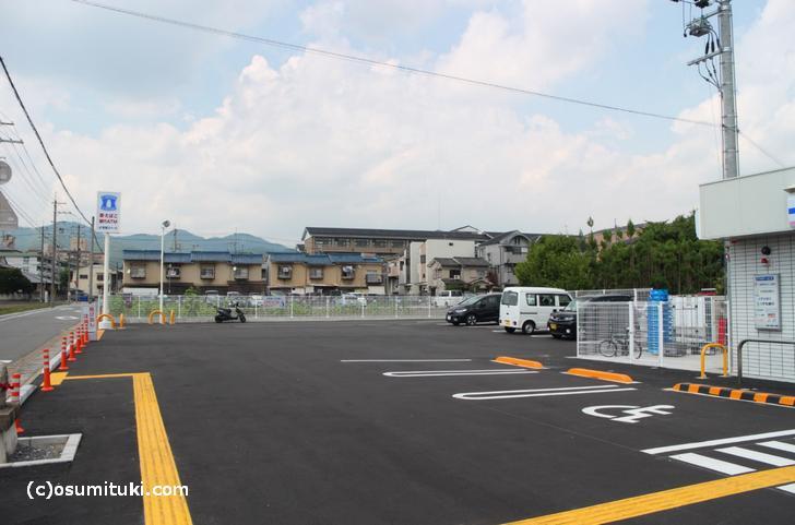 駐車場も広く静かな場所です
