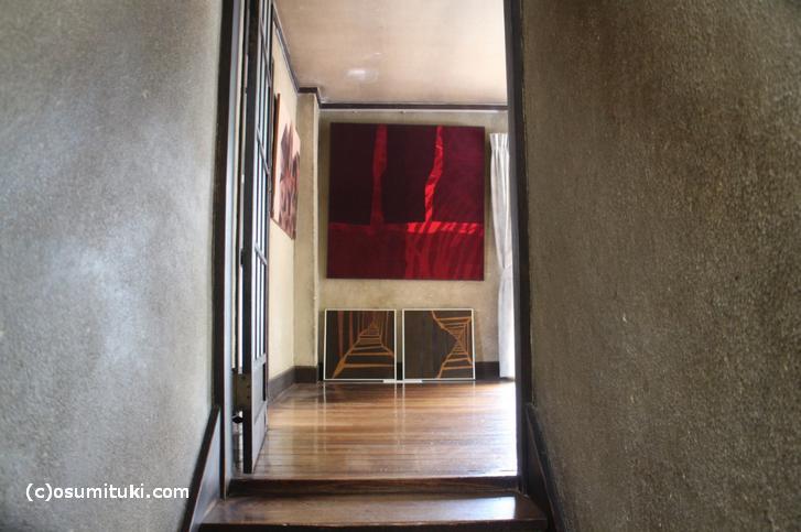 本野精吾邸 2階には洋間が3部屋あります
