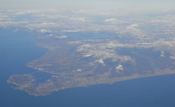 室蘭の地球岬は「陸繫島」