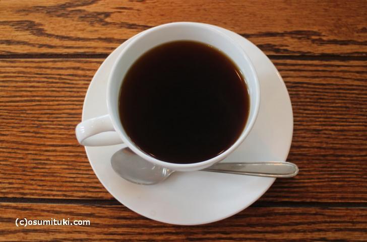 コーヒーは長岡京のウニール(Unir)さんのもの