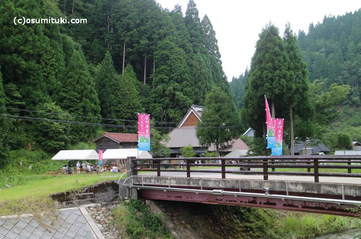 桂川の源流域で開催されている「広河原里山フェスティバル」