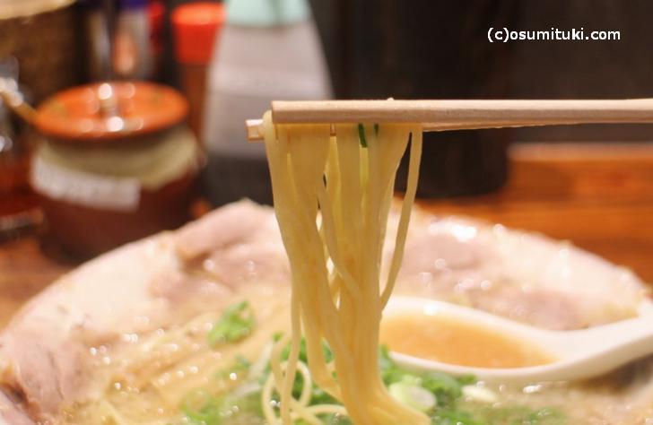 熟成細麺の味を継承するお店はまだあります
