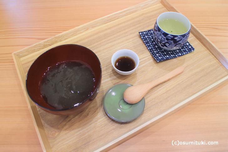 本わらび餅(日本茶付) 700円