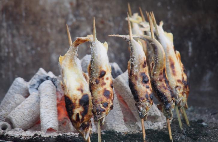 青空レストランで京都のアユが紹介されます