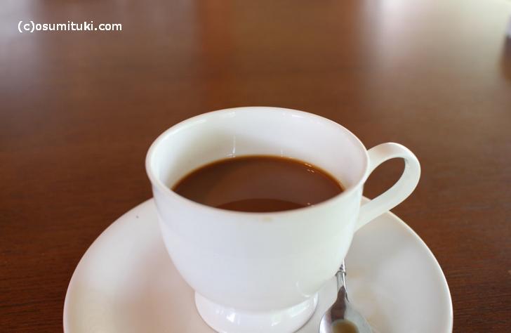 食後のコーヒーもついてます